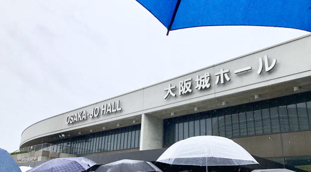 大阪城ホール 物販の様子