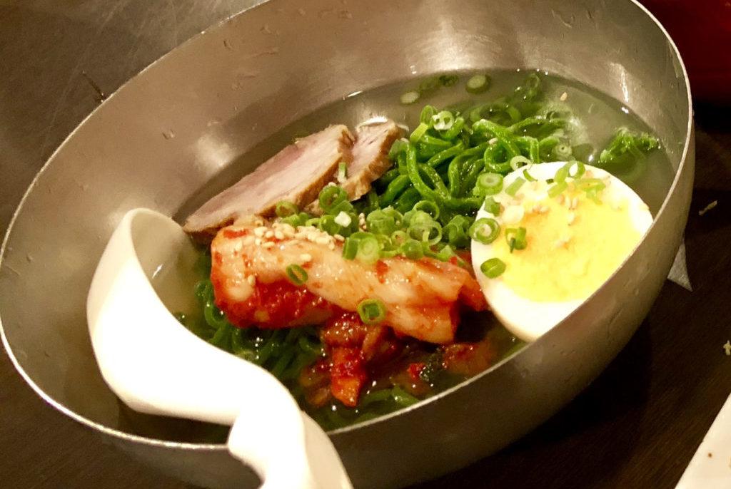 石垣島クロレラ冷麺