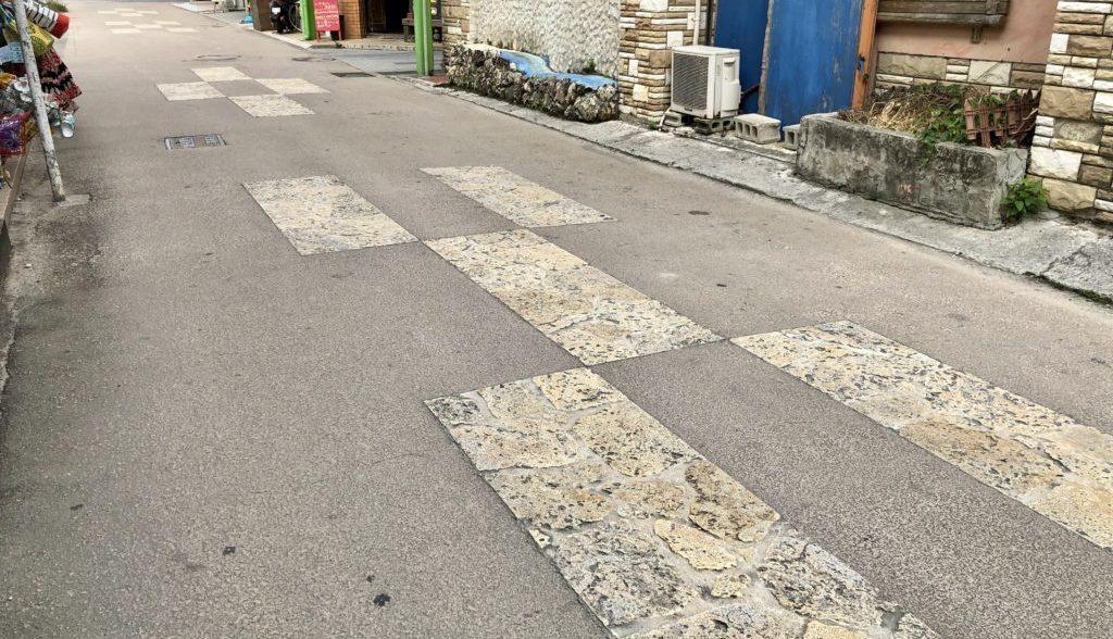 ユーグレナモール近くの道路