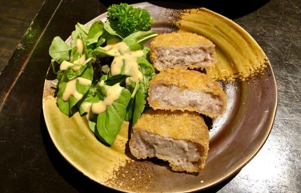 田芋のコロッケ