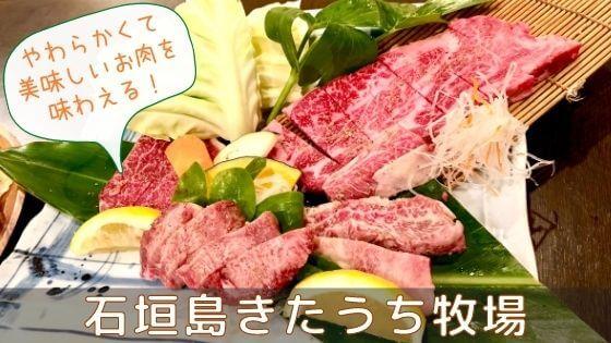 【沖縄旅行】美味しいお肉が食べられる!石垣島きたうち牧場へ行ってきた。