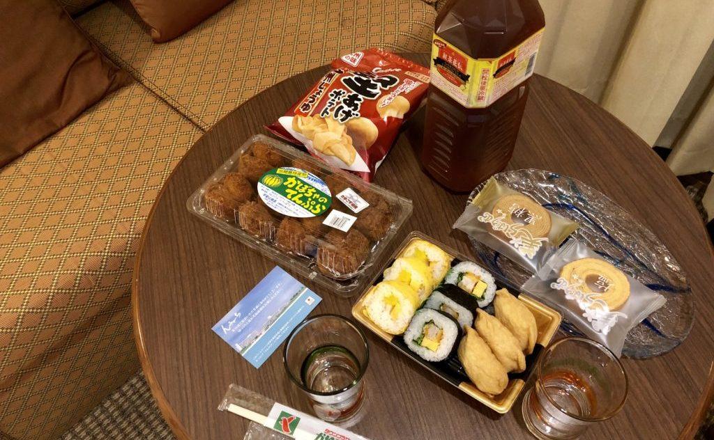 沖縄旅行3日目の夕飯