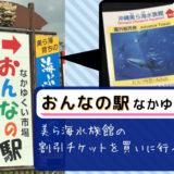 おんなの駅「なかゆくい市場」で美ら海水族館の割引チケットが手に入る!