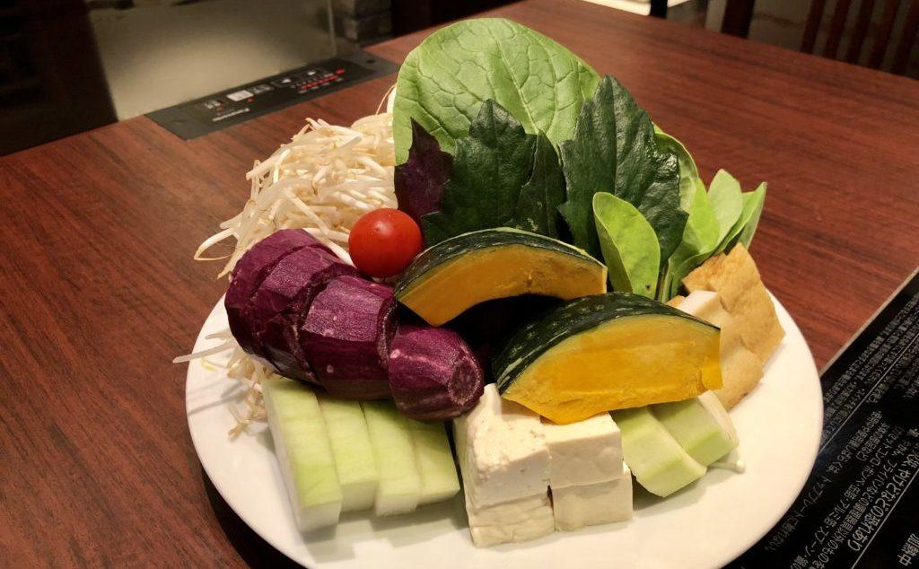 県産野菜を中心に10種