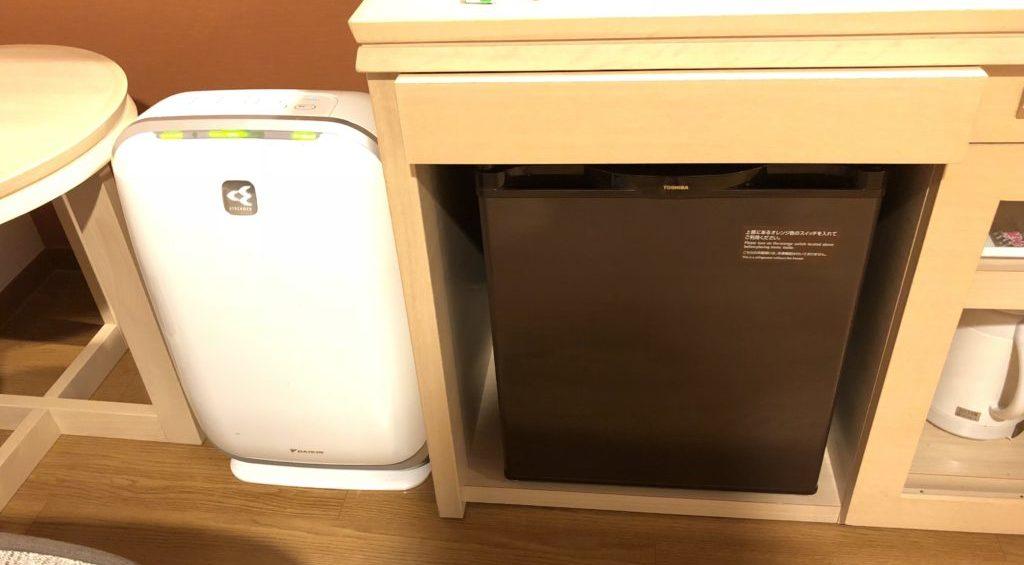 加湿器&冷蔵庫