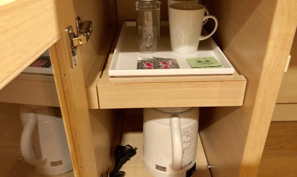 電気ポット&お茶セット
