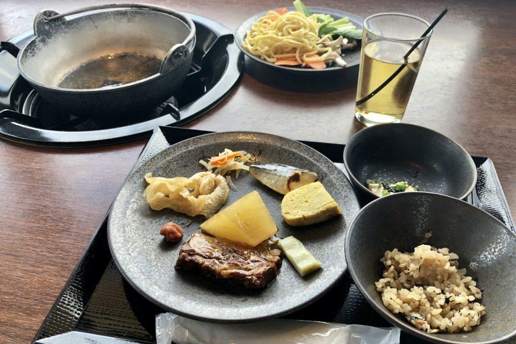 琉球 BBQ Blue朝食
