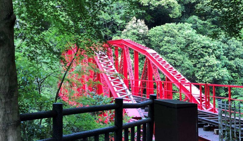 マイントピア別子 鉄橋