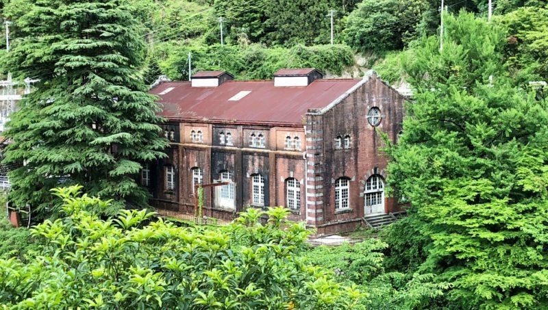 マイントピア別子 旧水力発電所