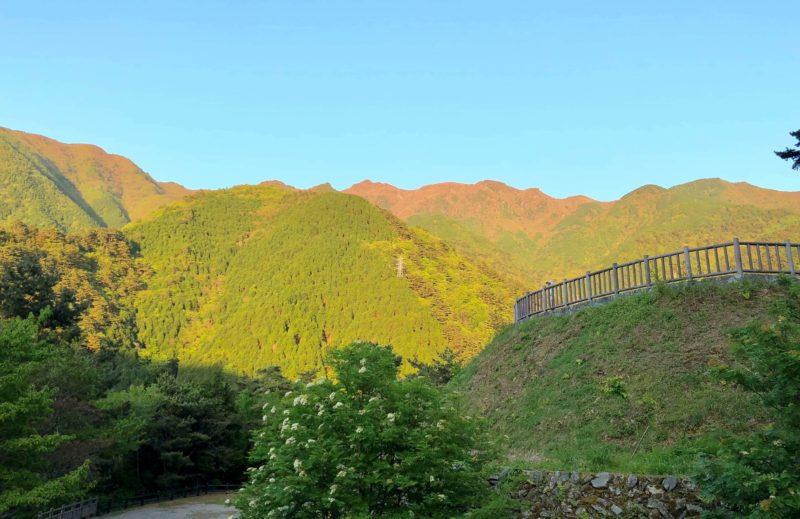 東平周辺の山々