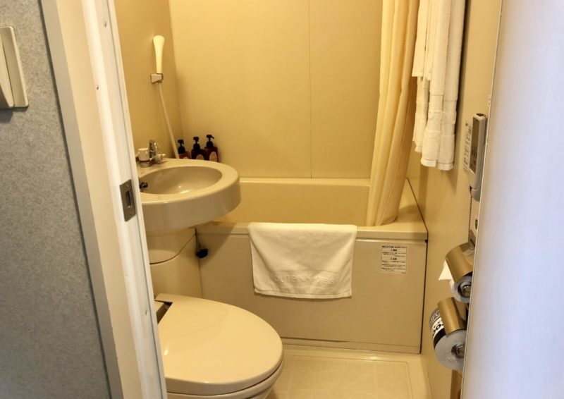 ルートイン金沢駅前 トイレ&お風呂