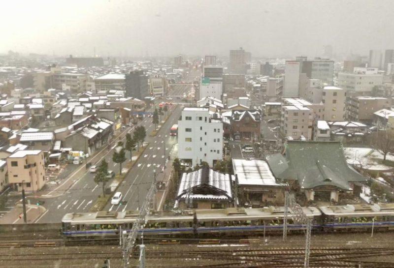 ルートイン金沢駅前 景色
