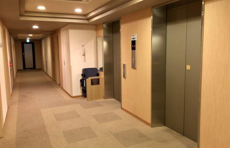 ルートイン金沢駅前 エレベーター