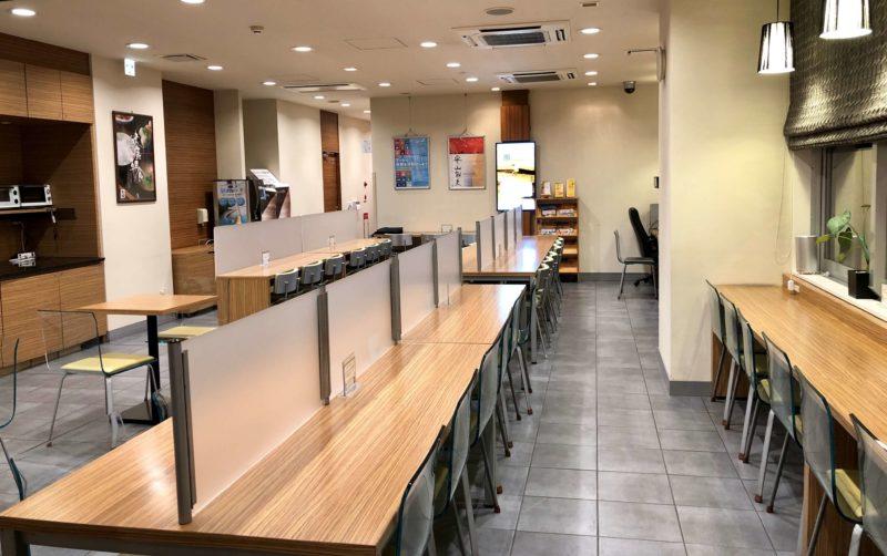 スーパーホテル新居浜 朝食スペース