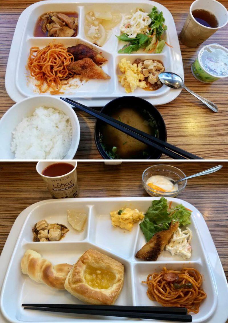スーパーホテル新居浜 朝食