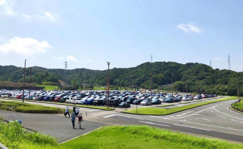 エコパアリーナ P4駐車場