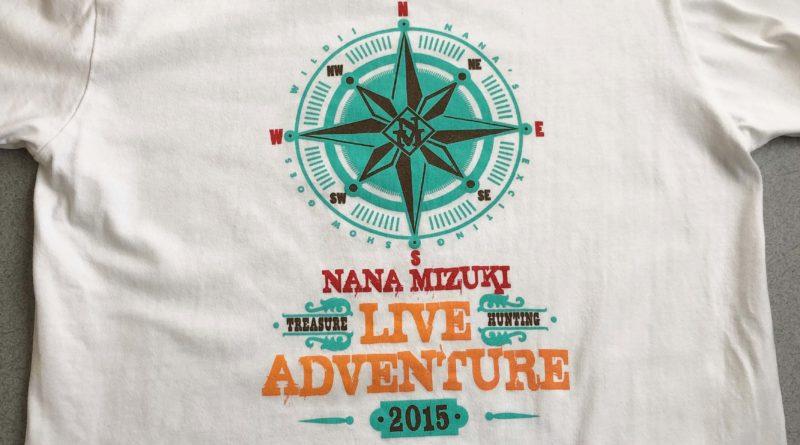 水樹奈々 LIVE ADVENTURE 2015 Tシャツ