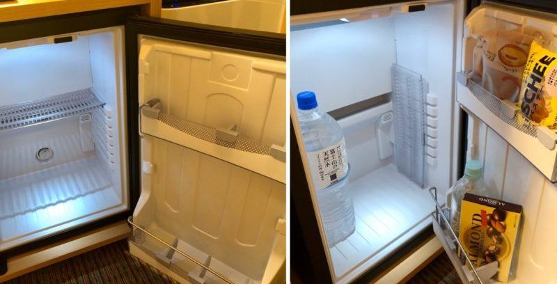 リッチモンドホテル姫路 冷蔵庫