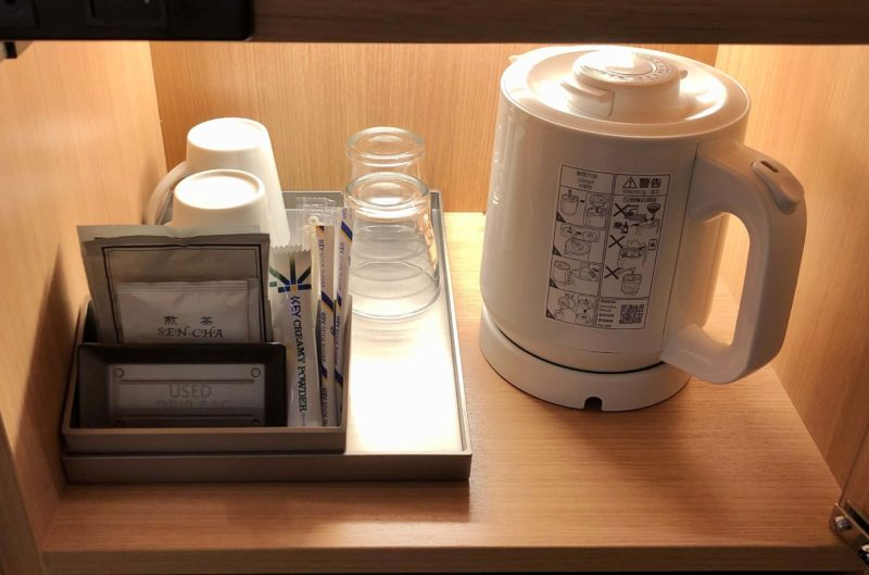 リッチモンドホテル姫路 お茶セット