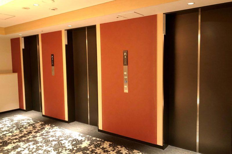 リッチモンドホテル姫路 エレベーターホール