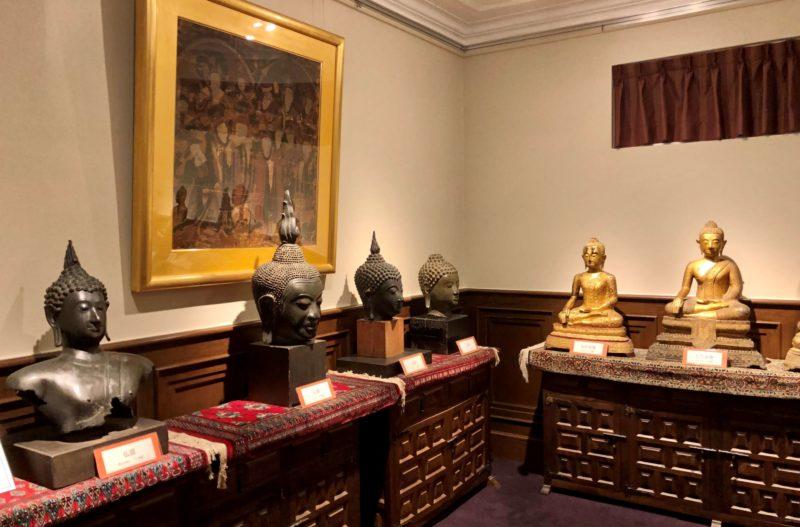 山手八番館 東洋の彫刻