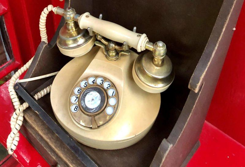 うろこの家&展望ギャラリー 電話ボックス