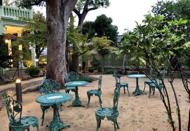 萌黄の館 庭