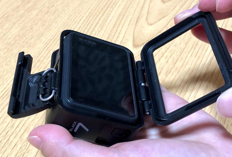 GoPro The Frame開け方