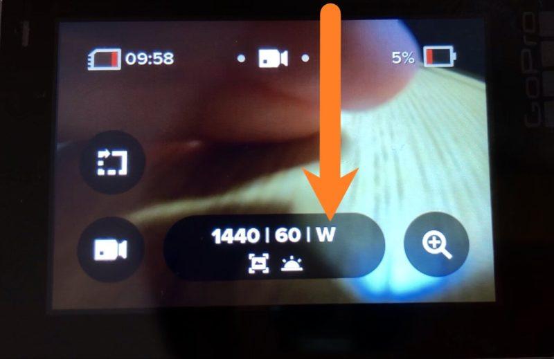 GoPro microSDカードのデータを消す
