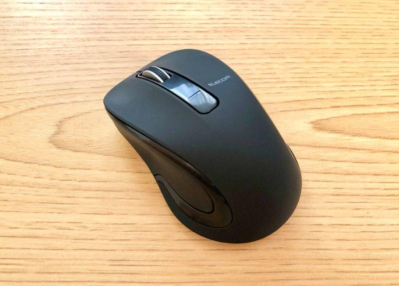 ELECOM(エレコム)Bluetoothマウス Sサイズ M-BT17BBBK (iOS対応)