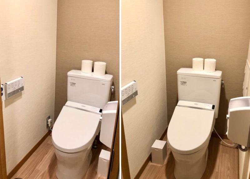 黒部・宇奈月温泉やまのは トイレ