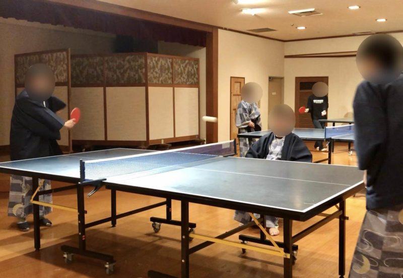黒部・宇奈月温泉やまのは 卓球コーナー
