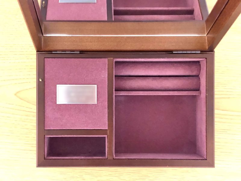 ハンドメイドオルゴール 夢の音 木製宝石箱OR071・18Nタイプ