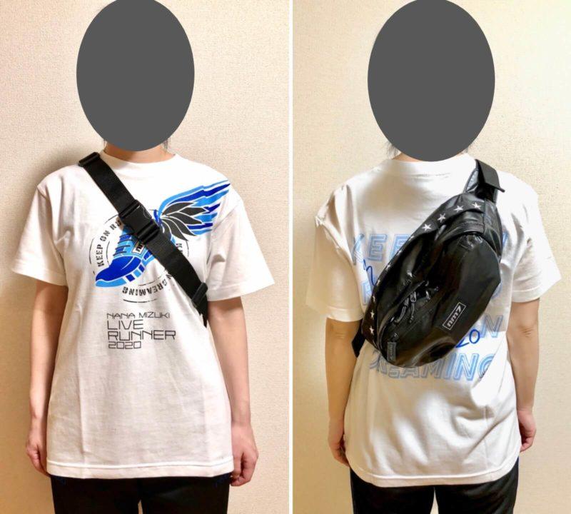 水樹奈々 LIVE RUNNER 2020グッズ ウエストポーチ