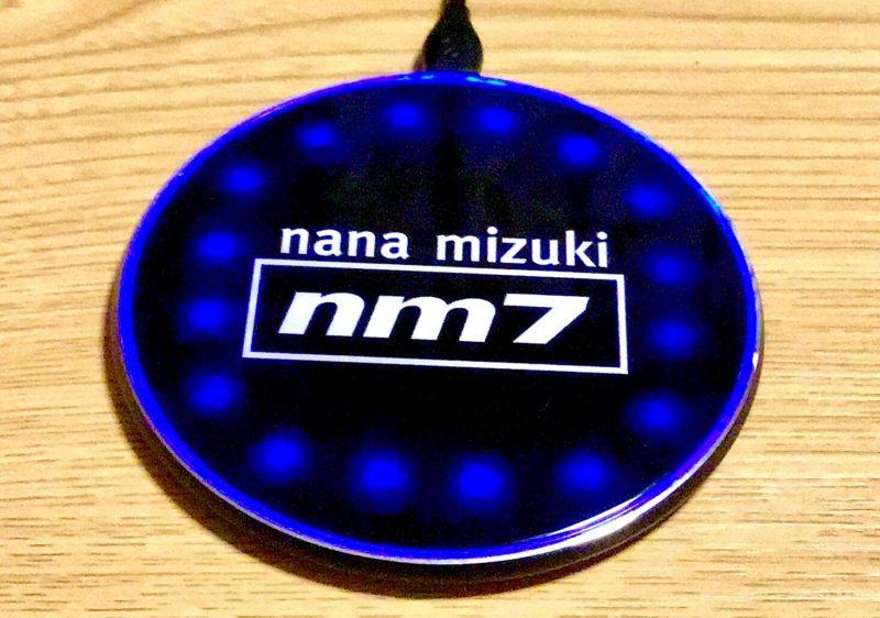 水樹奈々 LIVE RUNNER 2020グッズ NM-WIRELESS CHARGER