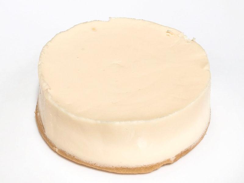 スイートオブオレゴン『3種のチーズケーキ味くらべ』のプレーンチーズケーキ