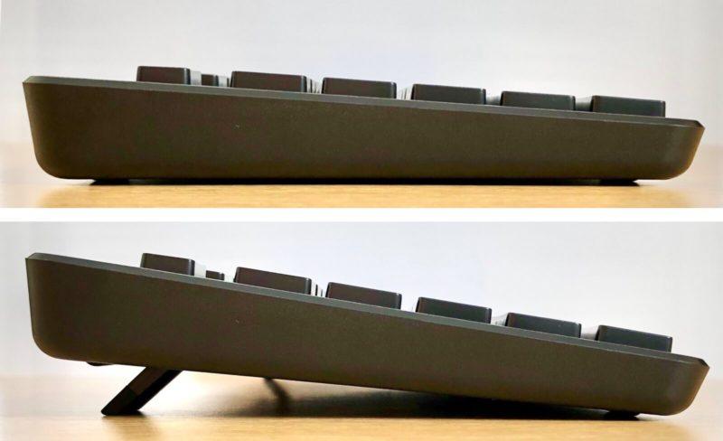 ELECOMのワイヤレスキーボードTK-FDM109Tはスタンド付き