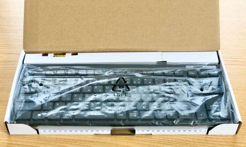 ELECOMのワイヤレスキーボードTK-FDM109T