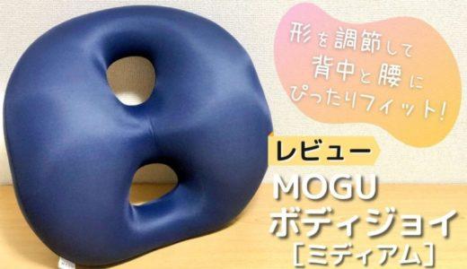 【レビュー】MOGU ボディジョイ・ミディアム|背中と腰を支えてデスクワークも快適に【口コミ・評判】