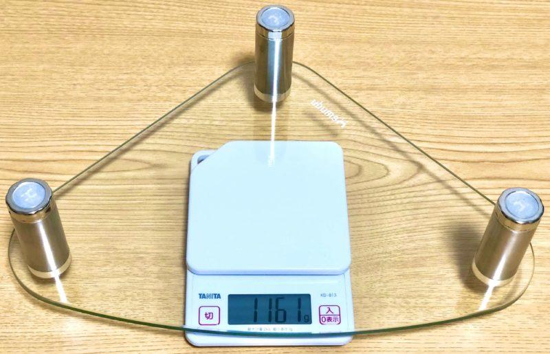 Hemuduモニター台 HD01T-003の重さ