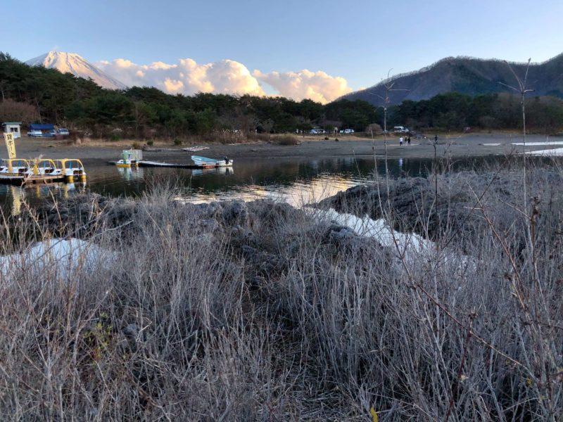 水樹奈々『残光のガイア』のPVロケ地(本栖湖)