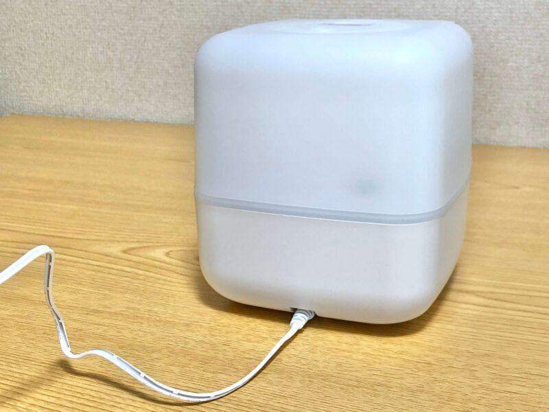 +style スマート加湿器(卓上)のACアダプター接続図